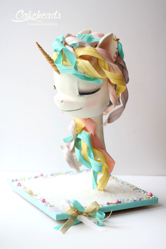 unicorn bust front angle