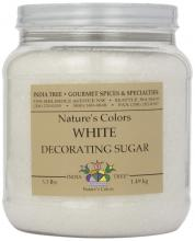 India Tree Frost White Decorating Sugar, 3.3 Pound